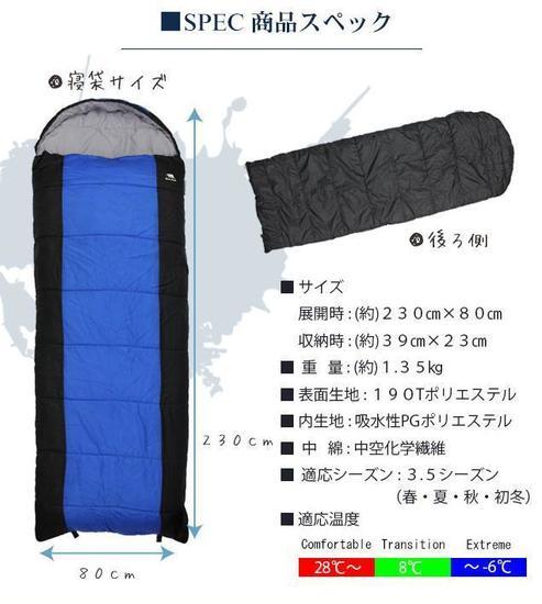 使いやすくて評判の良い寝袋